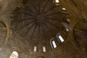 Natural light view of domed ceiling in the Chapel of St. Paul.
