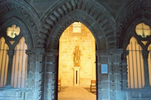 Entrance to the Chapel of St. Paul.
