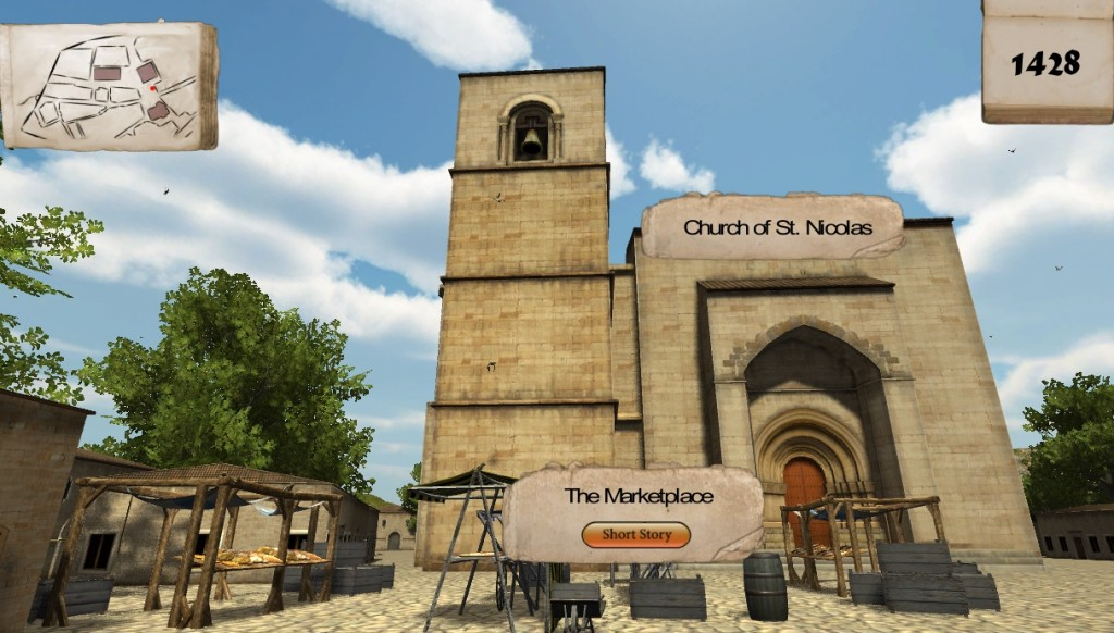 Virtual Plasencia - Church of St Nicolas