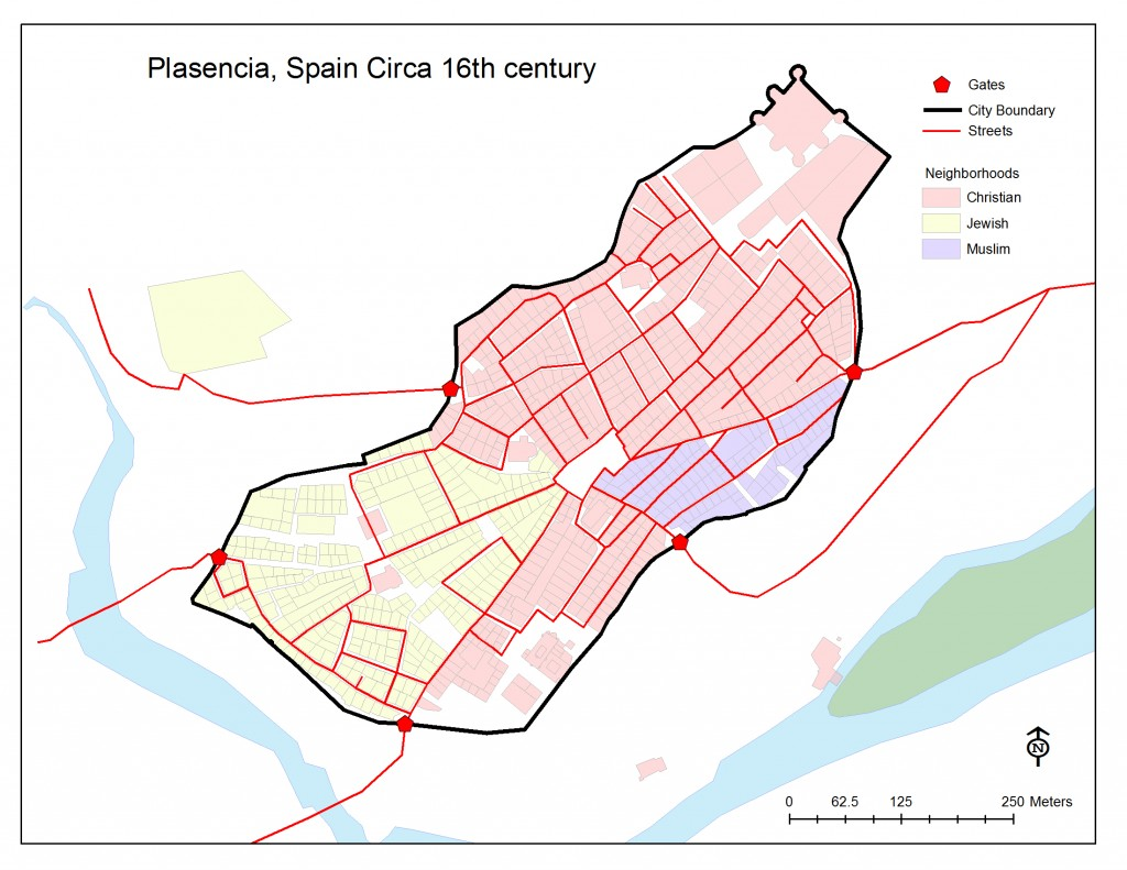 GIS Files – Map of Meval/Early Modern Plasencia ... on map activity, map labels, map minutes, map software programs, map errors, map services, map chat, map notes, map north america toronto, map vector art,